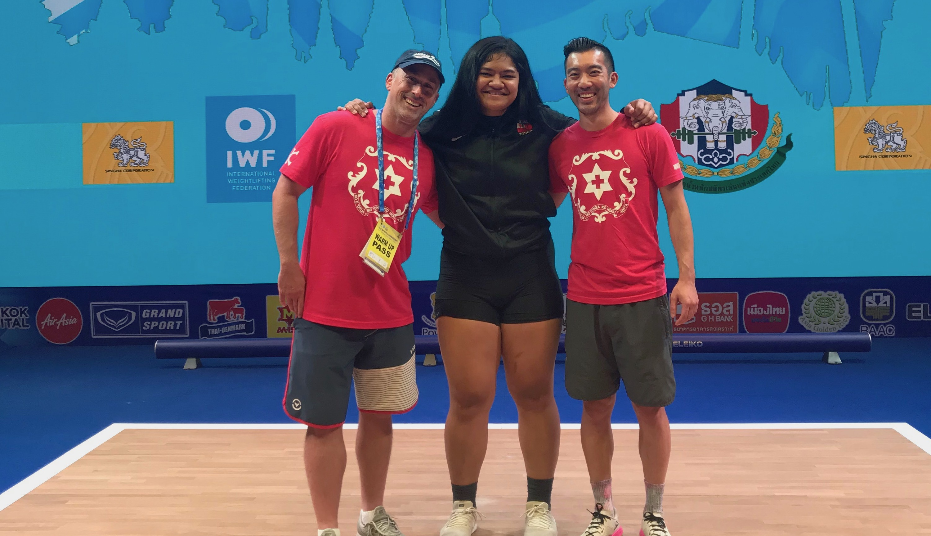 Kuinini Manumua, an ALHS class of 2018 alumni, makes all lifts at the IWF World Championships!