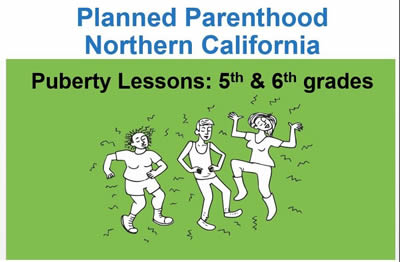 6th grade – Planned Parenthood Puberty Lessons