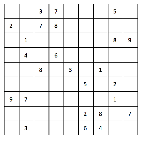 Rules for Last Sudoku