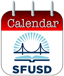 SFUSD Calendar Button.