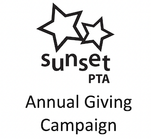 Sunset Annual Giving logo