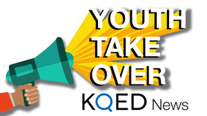 KQED Youth Take Over logo