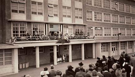 Opening of Lincoln High School