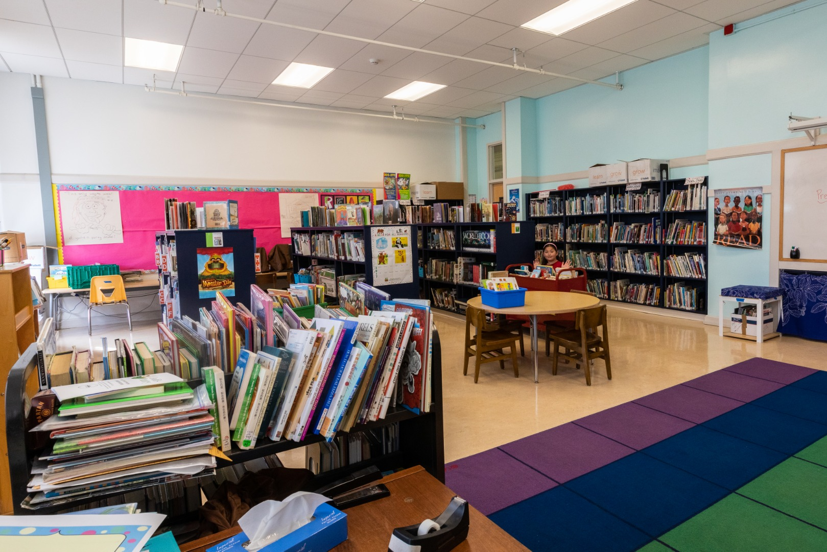 Chinese Immersion School Library