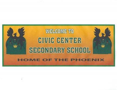 Civic Center Secondary School Logo
