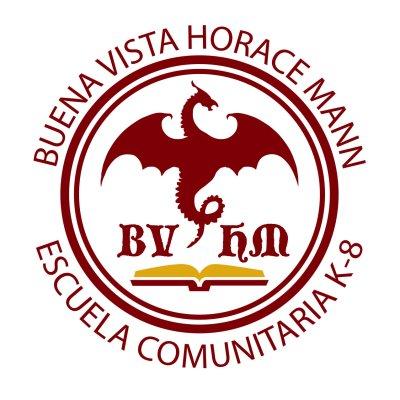 Buena Vista Horace Mann K-8 Community School Logo