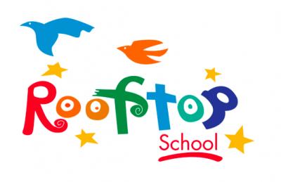 Rooftop PreK-8 School (PreK-4 Burnett campus) Logo