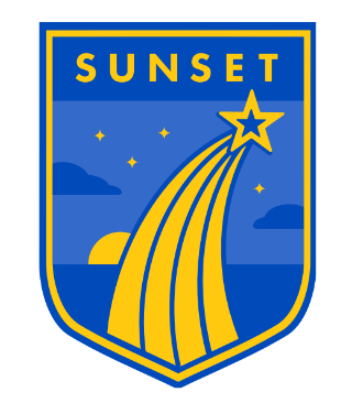 Sunset Elementary School Logo