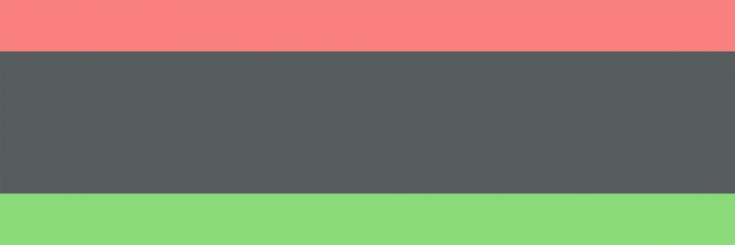 Red, Black, and Green color background