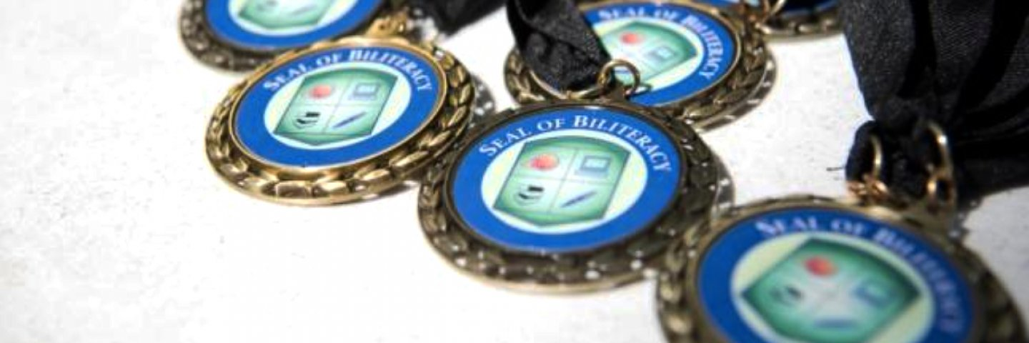Seal of Biliteracy medals