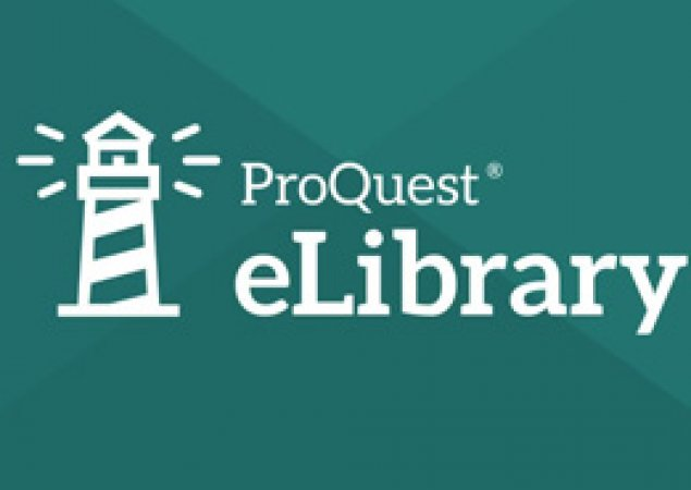 elibrary logo white lighthouse on green background
