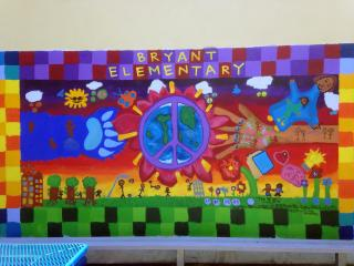 Mural at Bryant Elementary School
