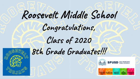 Congratulations RMS class of 2020