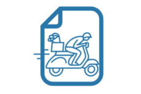 Grab and go icon
