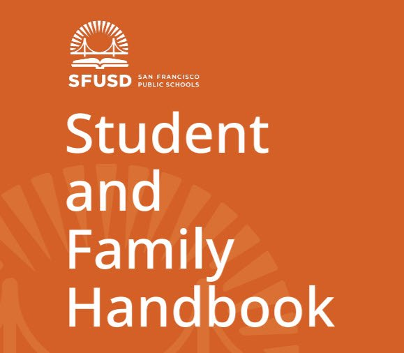 2020-21 Student and Family Handbook cover