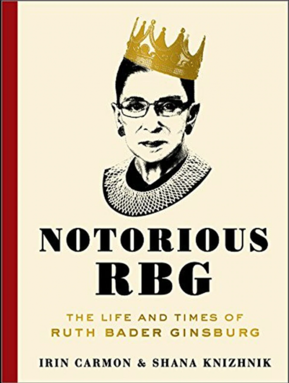 Notorious RBG book cover