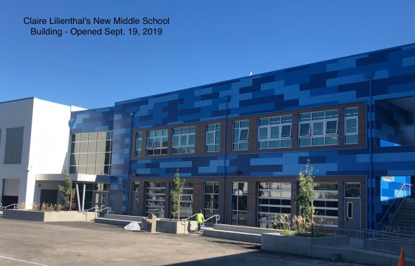 Claire Lilienthal's New Middle School Building