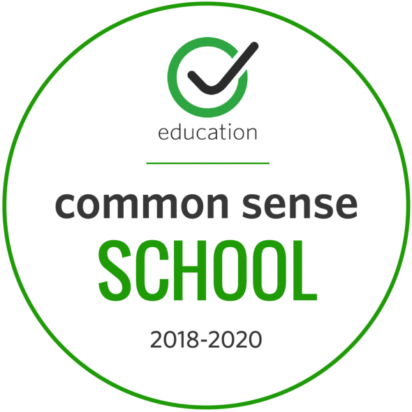 Common Sense Media School badge