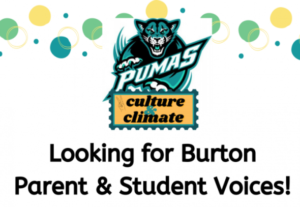 Looking for parents and student voices!