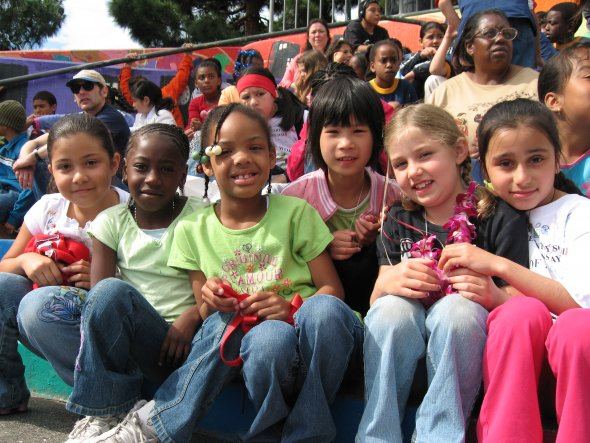 SFUSD Students at McKinley Elementary