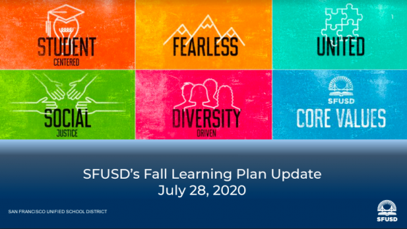 Fall 2020 Learning Plan logo