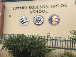 outside of Taylor Elementary