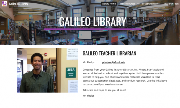 Galileo Library Website