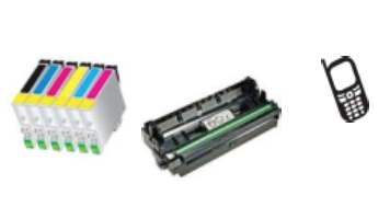 printer cartridges and cellphone images
