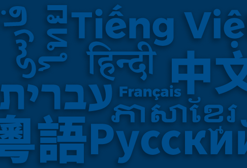 Collection of names of languages