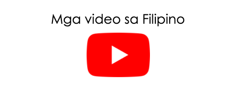 Videos in Filipino graphic