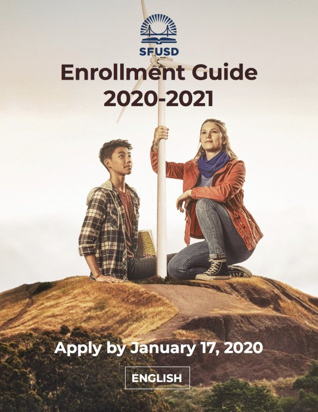 2020-21 Enrollment Guide Cover - English