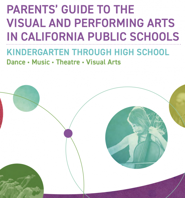 CA Arts Standards Guide Cover