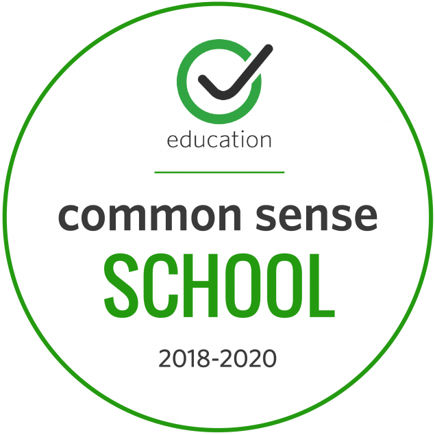 Common Sense Media School Badge 2018-2020