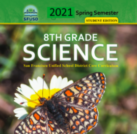8th Grade Spring Science Workbook