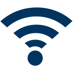 Icon of the wifi symbol