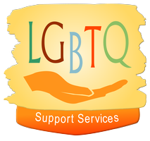 LGBTQ Support Services Logo