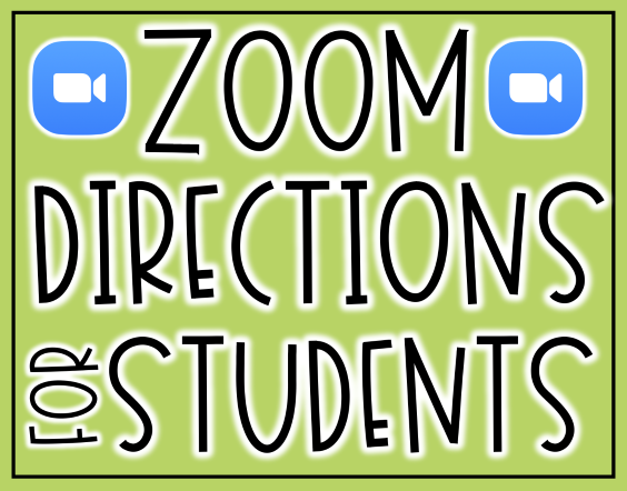 Zoom video tutorial for students