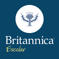 Britannica Excolar blue plant on a white background
