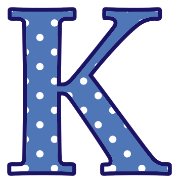 clipart of letter K